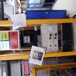 Gas Controls for Main Enclosure