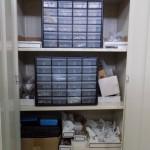 Inside Connectors Cabinet