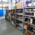 Test Stand Shelving